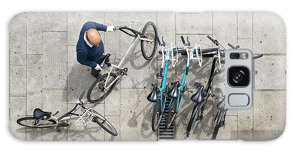Galaxy Case featuring the photograph Bicicle by Bruno Rosa