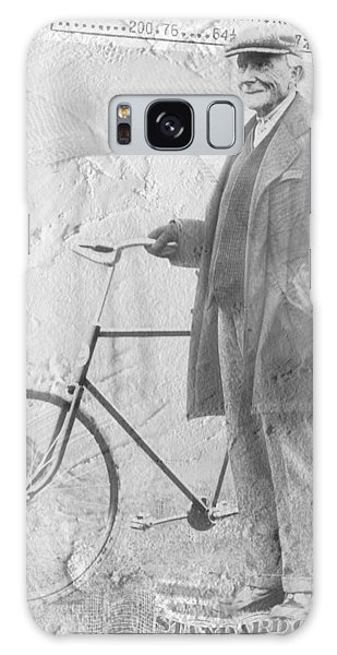 Bicycle And Jd Rockefeller Vintage Photo Art Galaxy Case