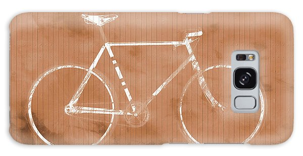 Bicycle On Tile Galaxy Case by Dan Sproul