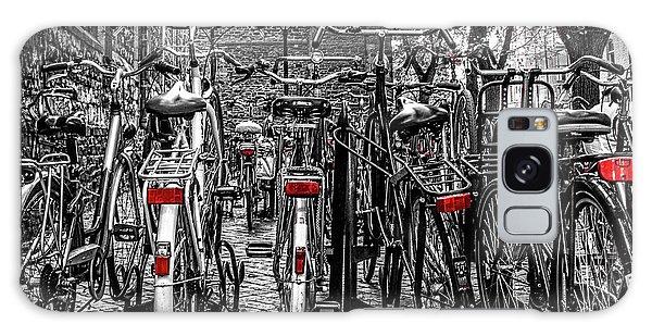 Bicycle Park Galaxy Case