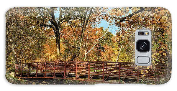 Galaxy Case featuring the photograph Bidwell Park Bridge In Chico by James Eddy