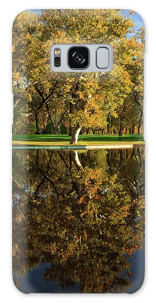 Bidwell Park Reflections Galaxy Case