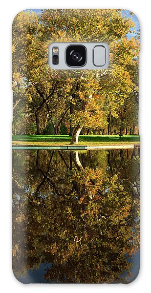 Bidwell Park Reflections Galaxy Case