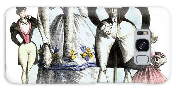 Fashion Plate Galaxy Case - Biedermeier French Fashion -les Fashionables by Village Antiques