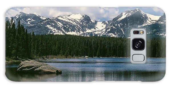 Bierstadt Lake Hallett And Otis Peaks Rocky  Mountain National Park Galaxy Case
