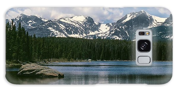 Bierstadt Lake Hallett And Otis Peaks Rocky  Mountain National Park Galaxy Case