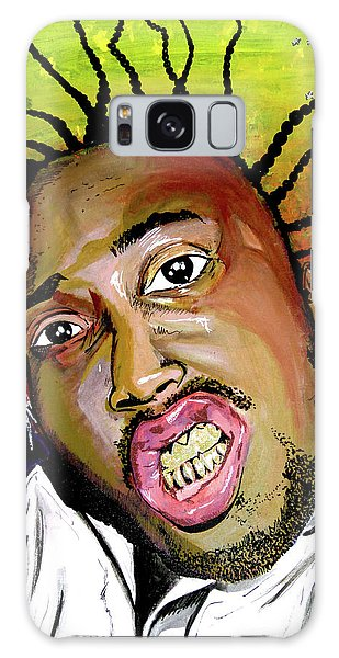 Galaxy Case featuring the painting Big Baby Jesus by eVol i