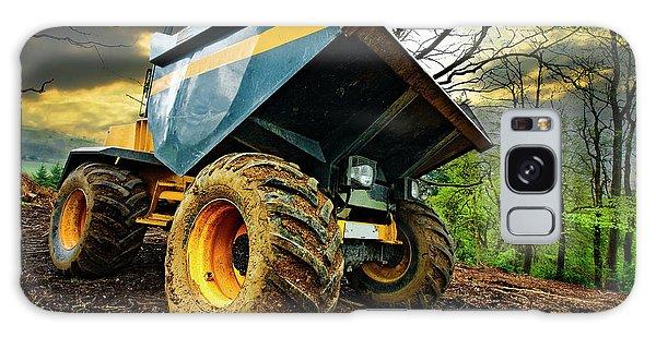 Big Bad Dumper Truck Galaxy Case