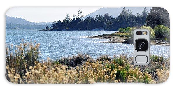 Big Bear Lake Shoreline Galaxy Case