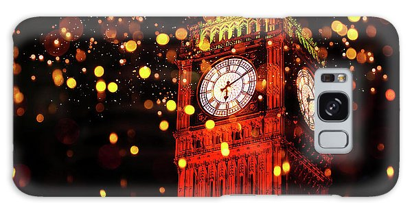 Big Ben Aglow Galaxy Case