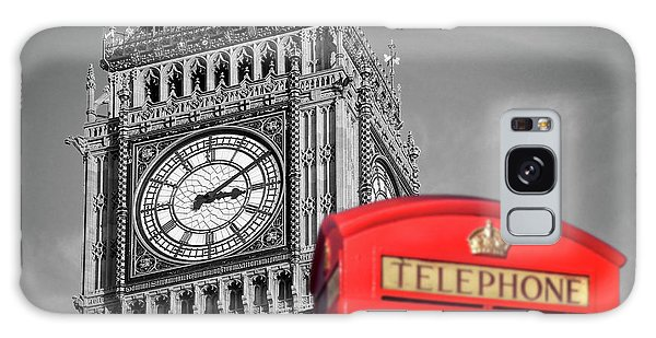 Big Ben Galaxy Case by Delphimages Photo Creations