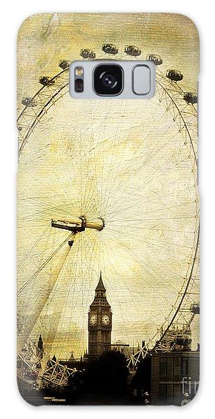 London Eye Galaxy Case - Big Ben In The London Eye by Joan McCool