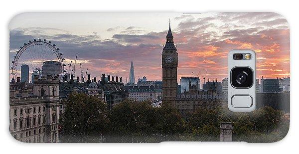 London Eye Galaxy Case - Big Ben London Sunrise by Mike Reid