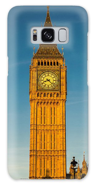 Big Ben Tower Golden Hour London Galaxy Case