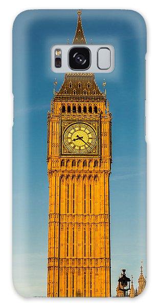 Big Ben Tower Golden Hour London Galaxy Case
