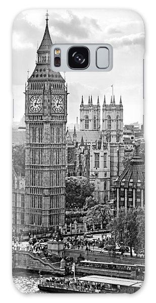 Big Ben With Westminster Abbey Galaxy Case