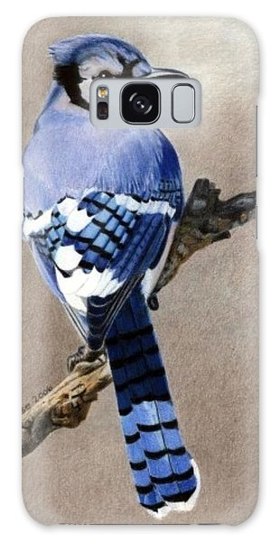 Big Blue Jay Galaxy Case