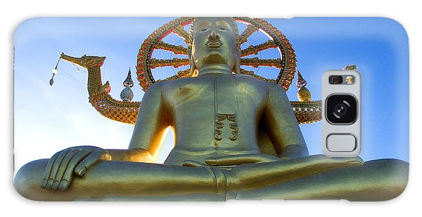 Big Buddha At Koh Samui Galaxy Case