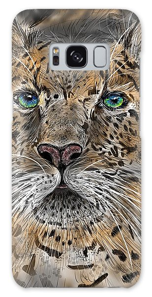 Galaxy Case featuring the digital art Big Cat by Darren Cannell