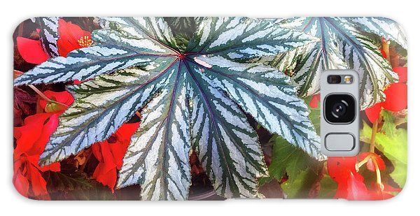 Big Exotic Leaves Galaxy Case