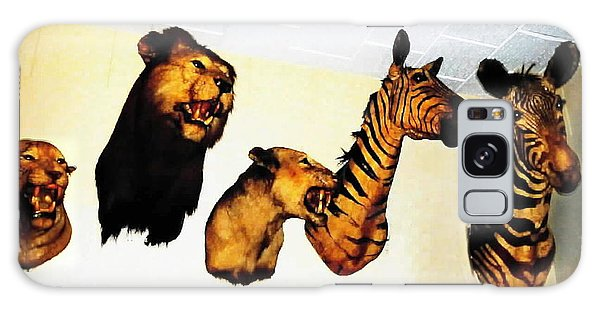 Big Game Africa - Zebras And Lions Galaxy Case by Sadie Reneau