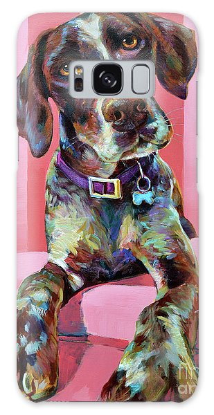 Big Hank, The German Short-haired Pointer Galaxy Case