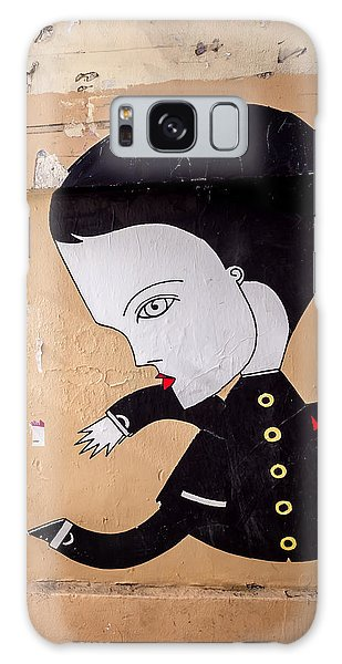 Big Head On Rue Chapon Galaxy Case