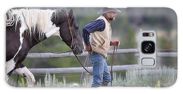Big Horn Cowboy Galaxy Case