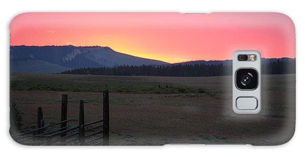 Big Horn Sunrise Galaxy Case