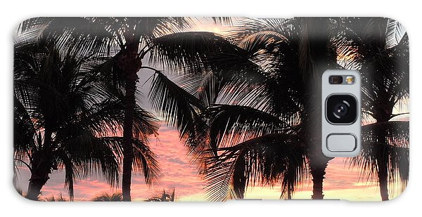 Big Island Sunset 1 Galaxy Case by Karen J Shine