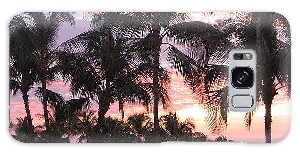 Big Island Sunset 3 Galaxy Case