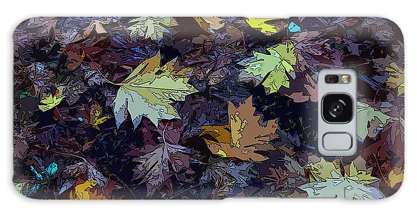 Big-leaf Maple Leaves Galaxy Case