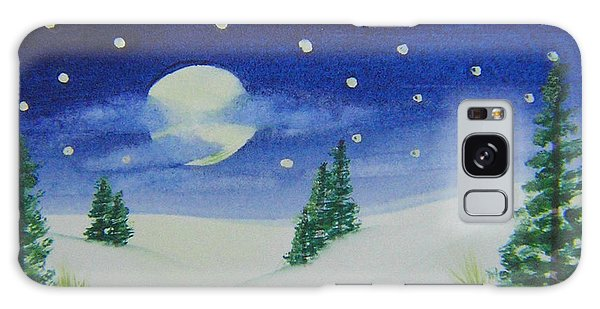 Big Moon Christmas Galaxy Case