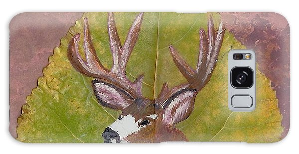 Big Mule Deer Buck Galaxy Case