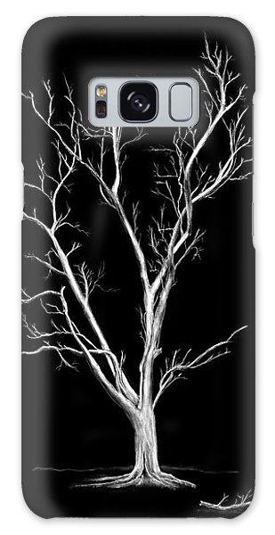 Big Old Leafless Tree Galaxy Case