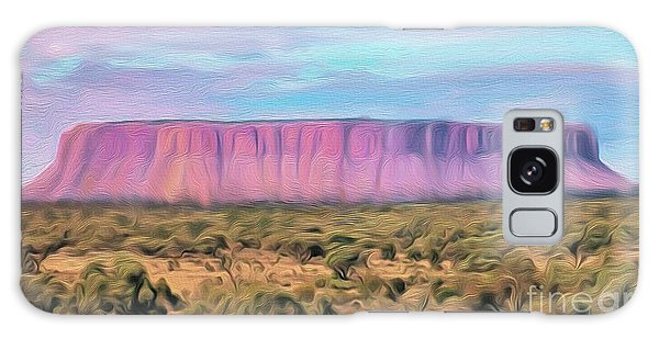 Big Pink Mesa Galaxy Case