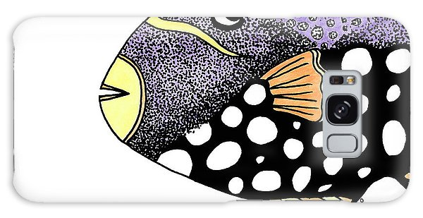 Big Purple Fish Galaxy Case