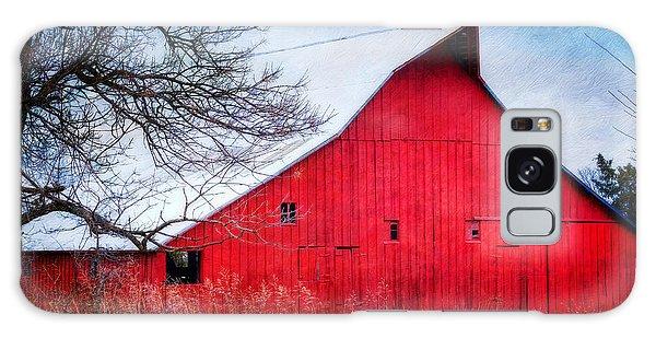 Big Red Barn Galaxy Case