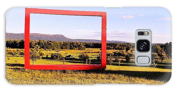 Big Red Frame Easthampton Galaxy Case