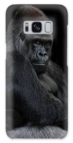 Gorilla Galaxy S8 Case - Big Silverback by Joachim G Pinkawa