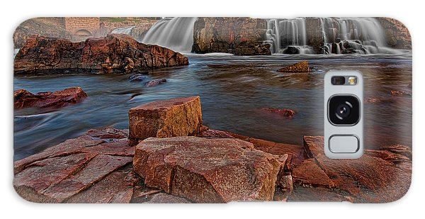 Big Sioux River Falls Galaxy Case