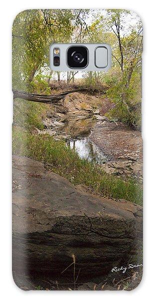Big Stone Creek Galaxy Case by Ricky Dean