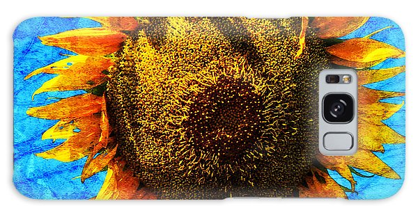 Big Sunflower Galaxy Case