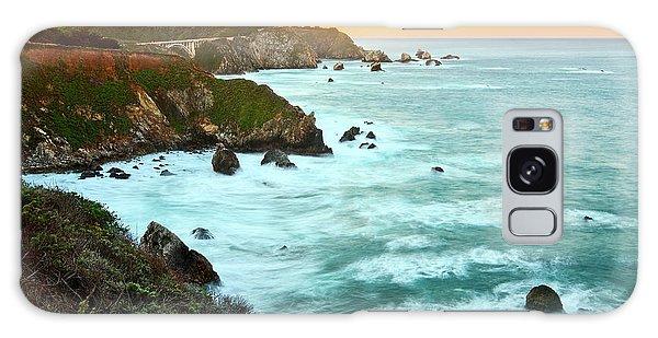 Pacific Ocean Galaxy Case - Big Sur Sunrise by Jamie Pham