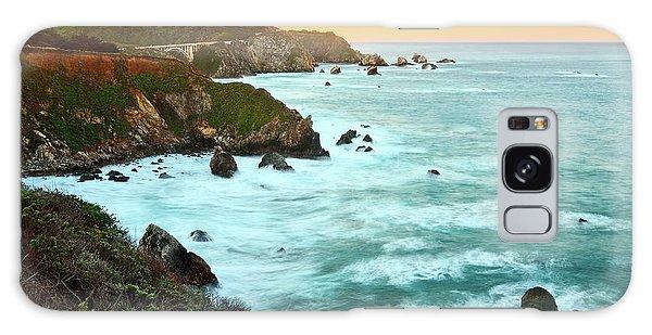 Ocean Galaxy Case - Big Sur Sunrise by Jamie Pham