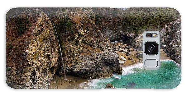 Big Sur Waterfall Galaxy Case
