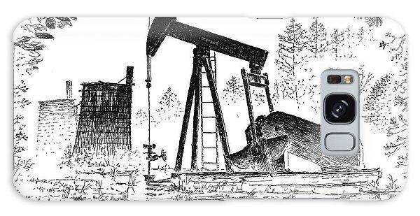 Big Thicket Oilfield Galaxy Case