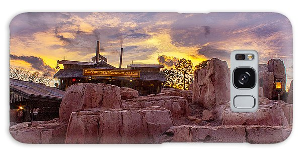 Big Thunder Mountain Sunset Galaxy Case