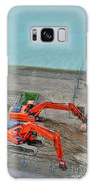 Excavator Galaxy Case - Big Toys by Olivier Le Queinec