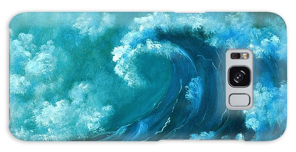 Big Wave Galaxy Case by Anastasiya Malakhova